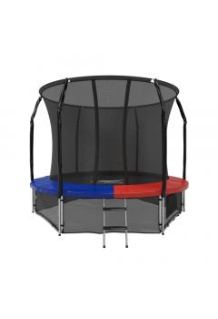 Батут с защитной сеткой Space Blue/Red 10FT