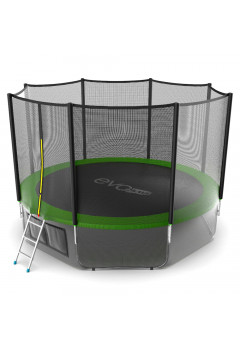Батут Evo jump External 12 ft + нижняя сеть