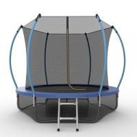 Батут Evo jump Internal 8 ft , (синий) + нижняя сеть