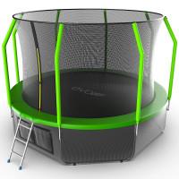 Батут Evo jump Cosmo 12 ft + нижняя сеть
