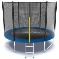 Батут Evo jump External 10 ft , (синий)