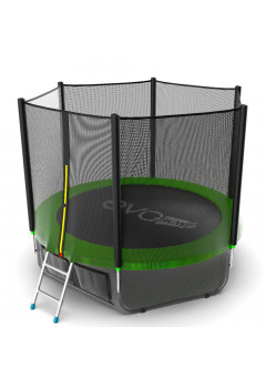 Батут Evo jump External 8 ft + нижняя сеть