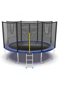 Батут Evo jump External 12 ft , (синий)