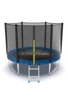 Батут Evo jump External 8 ft , (синий)