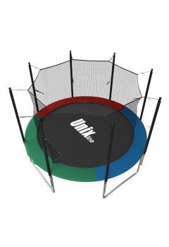 Батут UNIX line Simple 8 ft Цветной (inside)