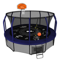 Батут UNIX line SUPREME GAME 16 ft + Basketball