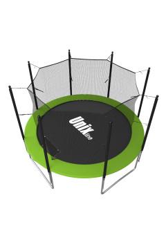 Батут UNIX line Simple 8 ft зеленый (inside)