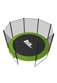 Батут UNIX line Simple 8 ft зеленый (outside)