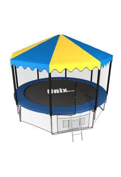 Батут UNIX line 10 ft outside с крышей