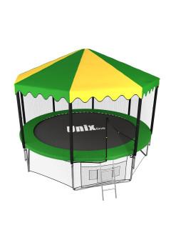 Батут UNIX line 12 ft outside с крышей