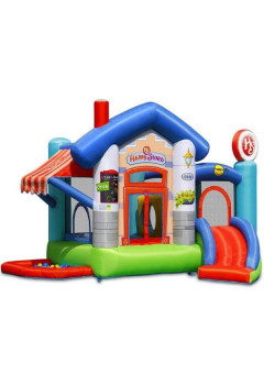 Детский надувной батут Happy Hop Веселый магазинчик 9415