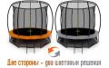 """Изображения №3 батута с сеткой Triumph Nord в магазине """"Батут-Кидс"""""""